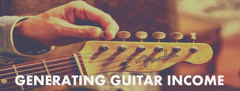 Generating Income with your Guitar