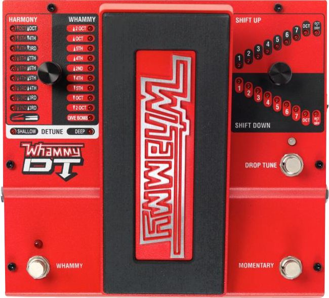 Digitech Whammy Dt Drop Tune Guitar Effects Pedal