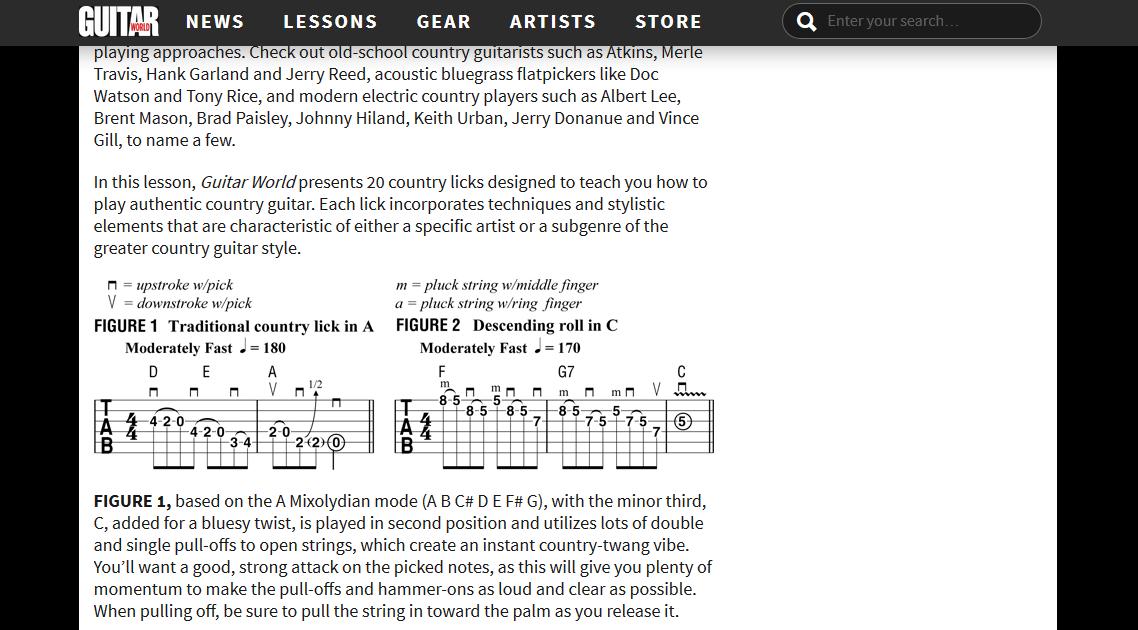 Brad Paisley Amp Settings Guitar Chalk