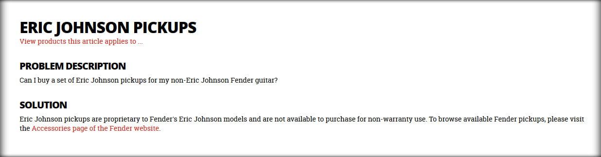Fender Stratocaster Signature Guitars The Complete List