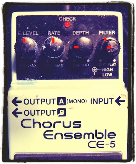 Boss CE-5 Chorus Ensemble Settings