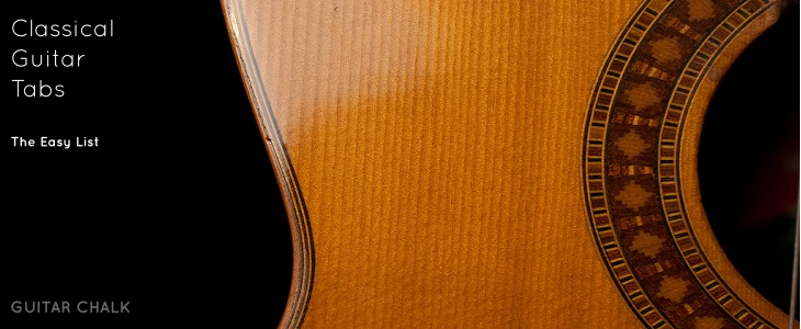 Simple Classical Guitar Tabs: The Starter Kit