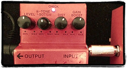 Distortion Pedal Settings