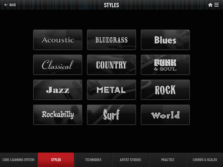 Guitar Tricks iPad App