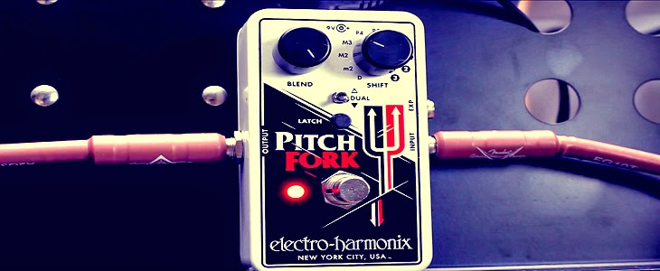 EHX Pitch Fork Review (Electro-Harmonix Pitch Shifter and Octave Pedal)