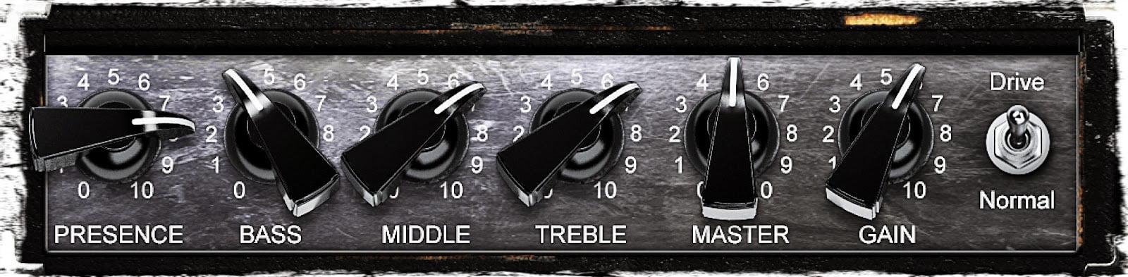 guitar amp settings guide reference for 19 amplifier presets guitar chalk. Black Bedroom Furniture Sets. Home Design Ideas