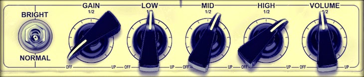 guitar amp how to set tone gain