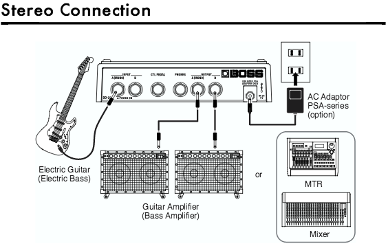 delay pedal schematic