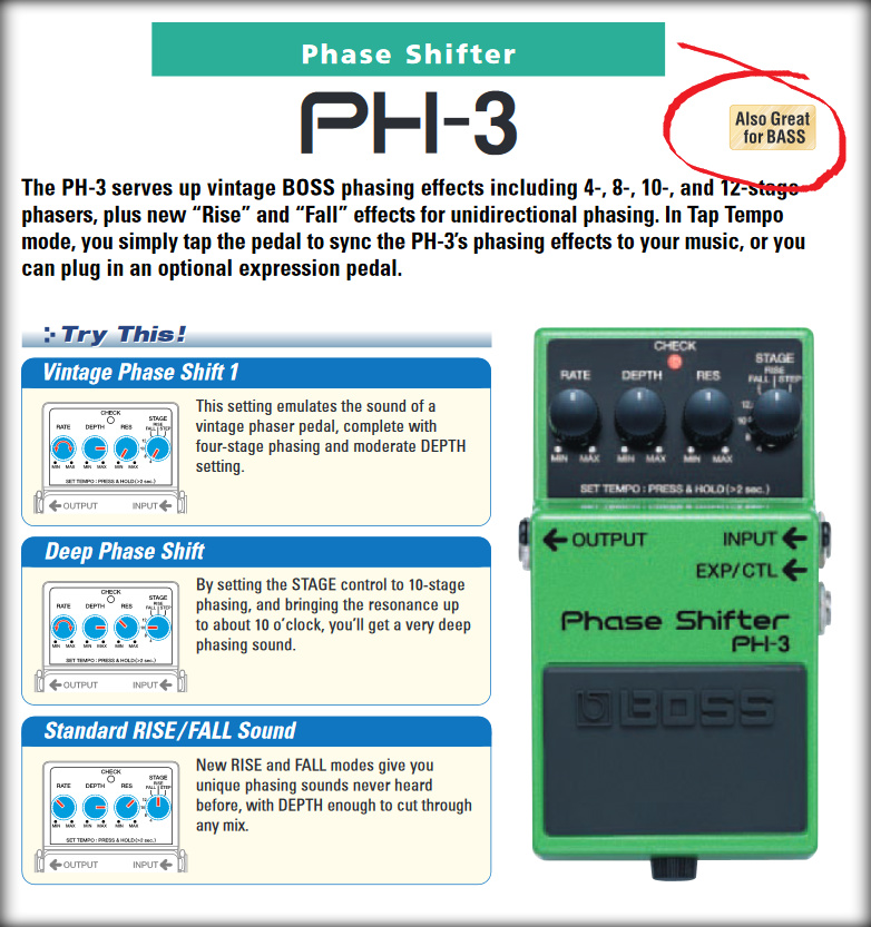 6 Part Best Phaser Pedal Roundup Review Amp Buying Guide