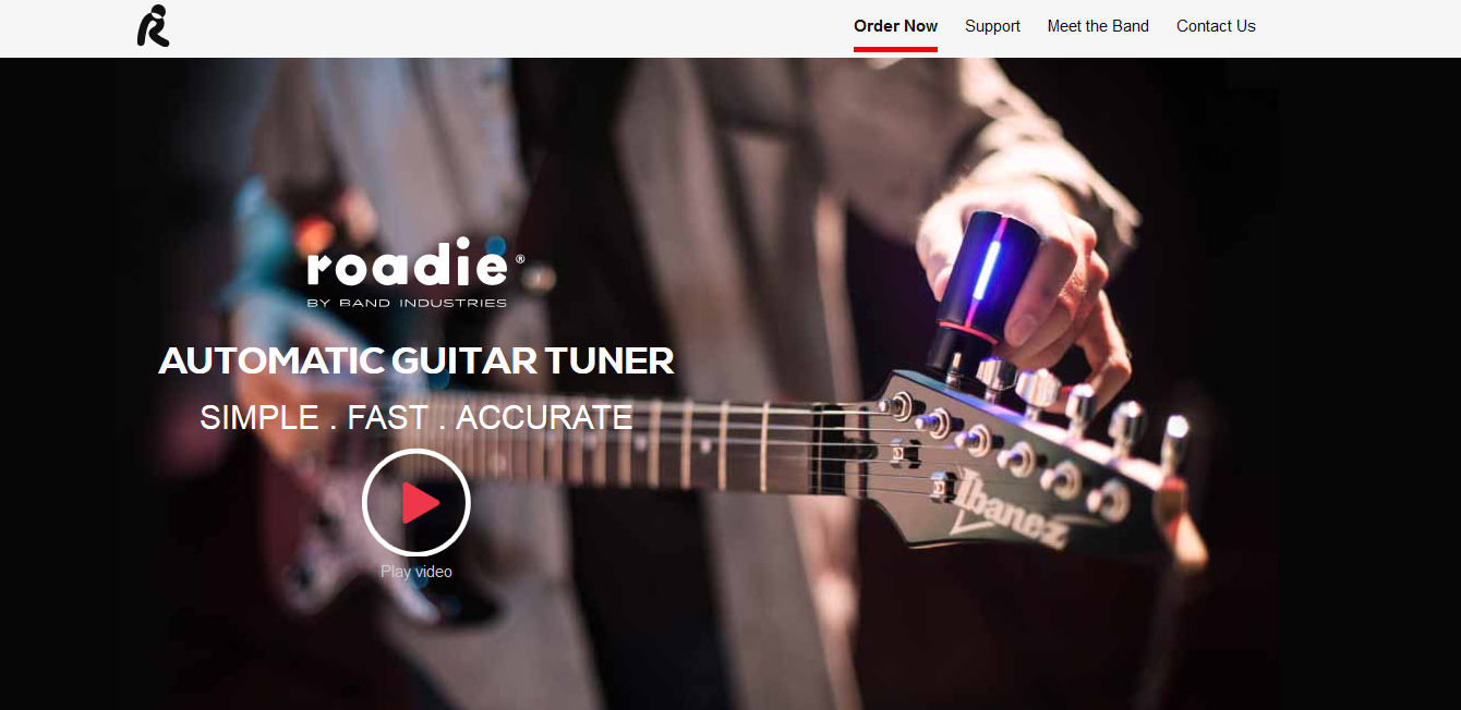 Roadie Tuner Home Page