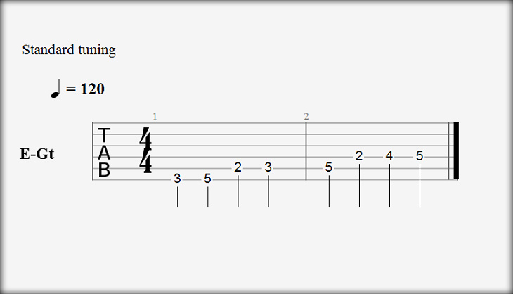 Guitar Pro 6 Hide Standard Notation