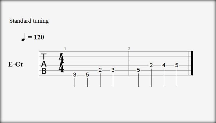 Guitar Pro 6 Hide Standard Notation