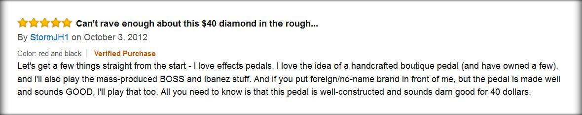 Cheap Distortion Pedals