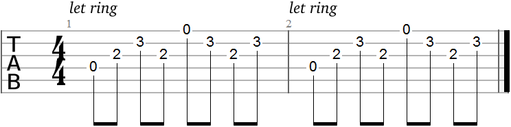 Guitar Tabs for Beginners: 18 Riffs from Popular Rock Songs