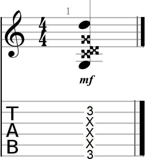 Fourth Dyadic Chord (compound interval)