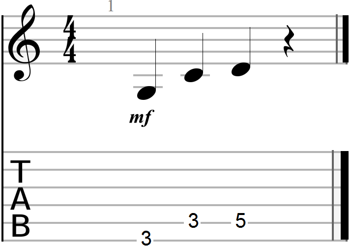 G, C and D 12 Bar Blues Chord Progression