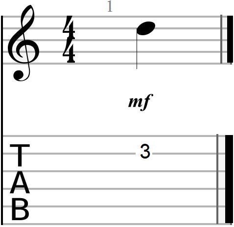 G, C and D Chord Progression Anchor Note