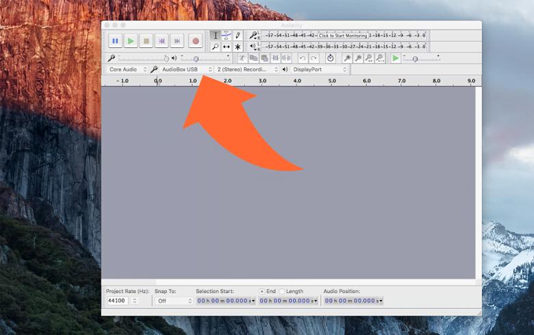 Audacity Screenshot