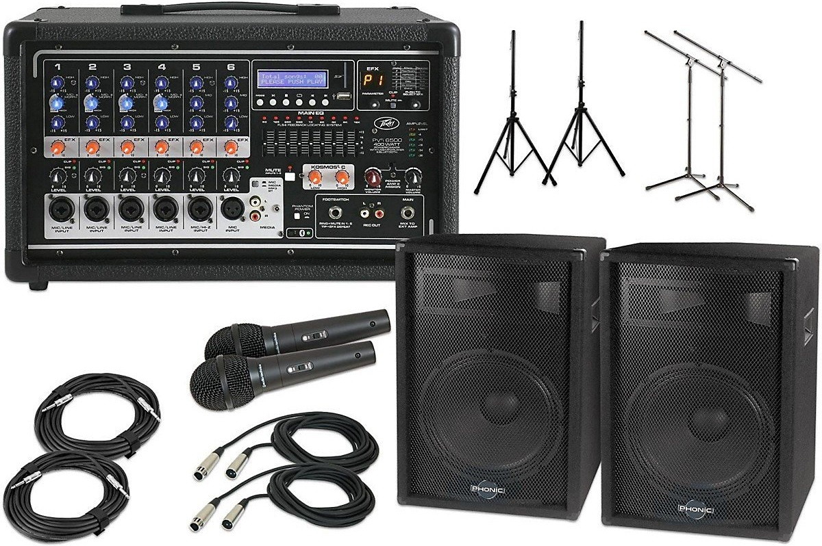 Ideal Church Pa System Portable And Wireless Mic Options