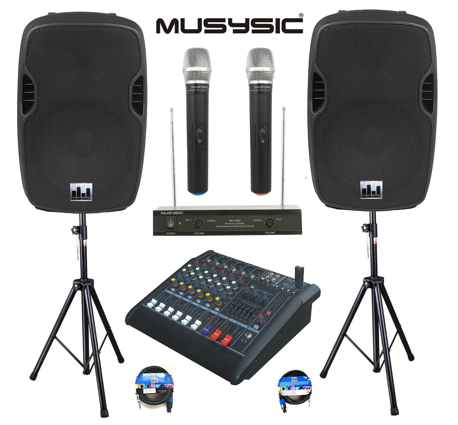 Complete Wireless PA System Package from MUSYSIC