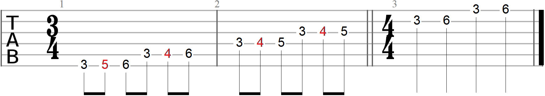 Guitar Exercises 133