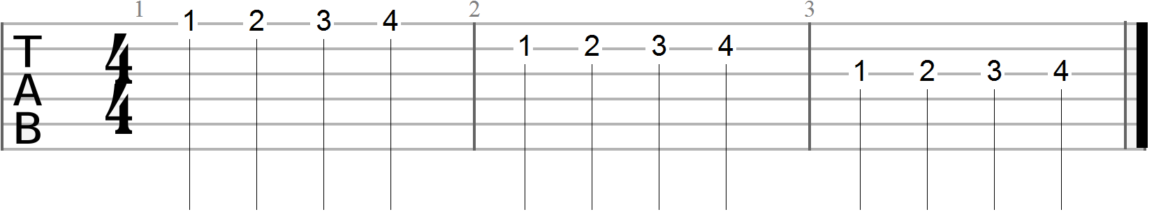 Guitar Exercises #3