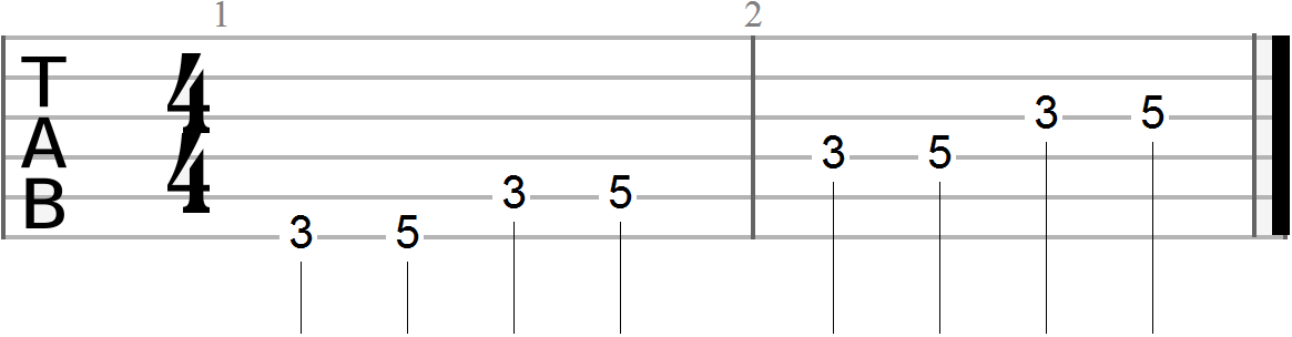 Guitar Exercises #6