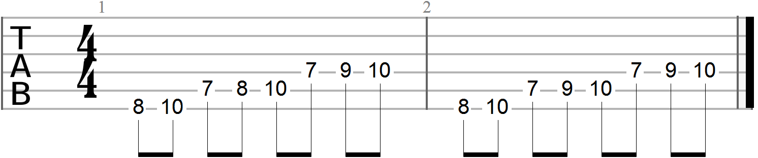Guitar Finger Exercises (50)