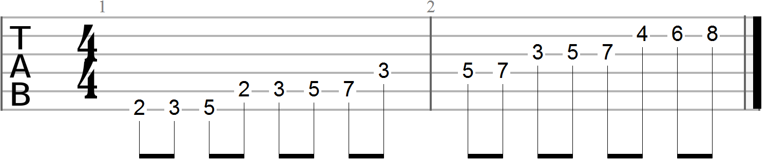Guitar Finger Exercises (90)