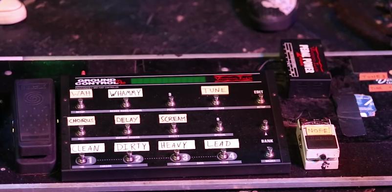Hinder Joe Garvey Pedalboard MIDI Foot Controller