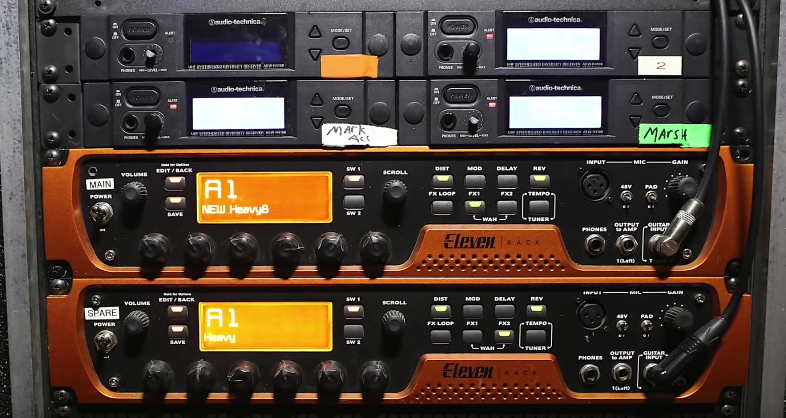 how to setup a guitar rack system with the proper cases guitar chalkhinder joe garvey rack guitar system with avid processors