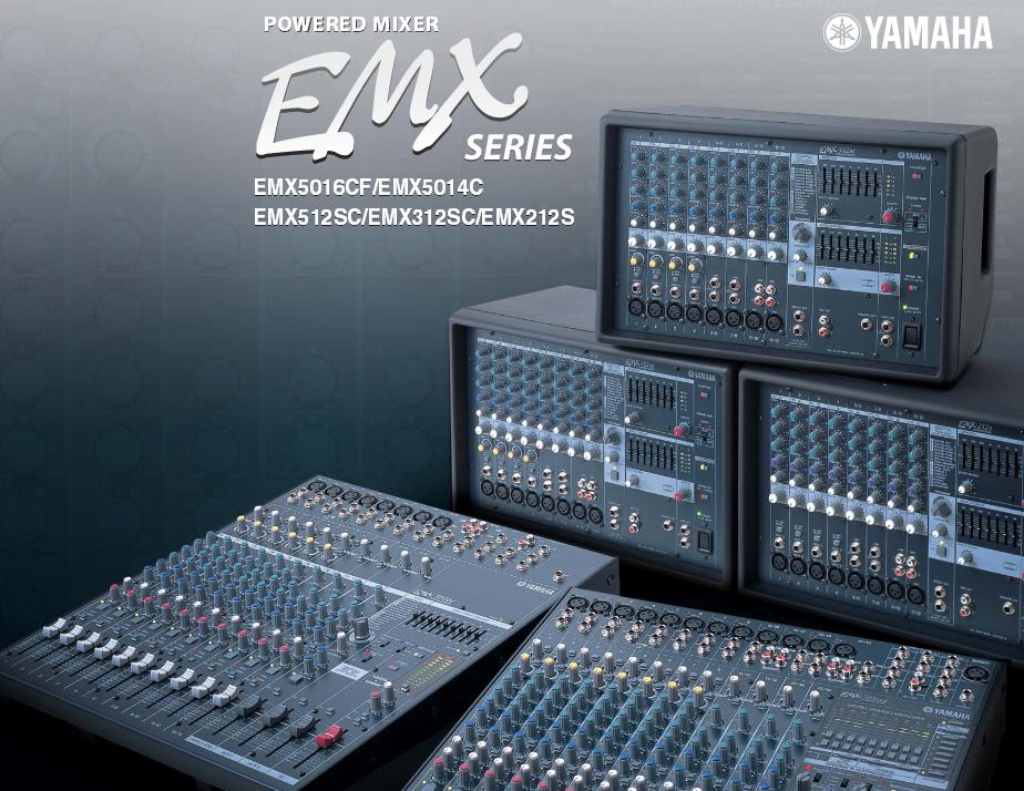 Yamaha EMX Series Mixers