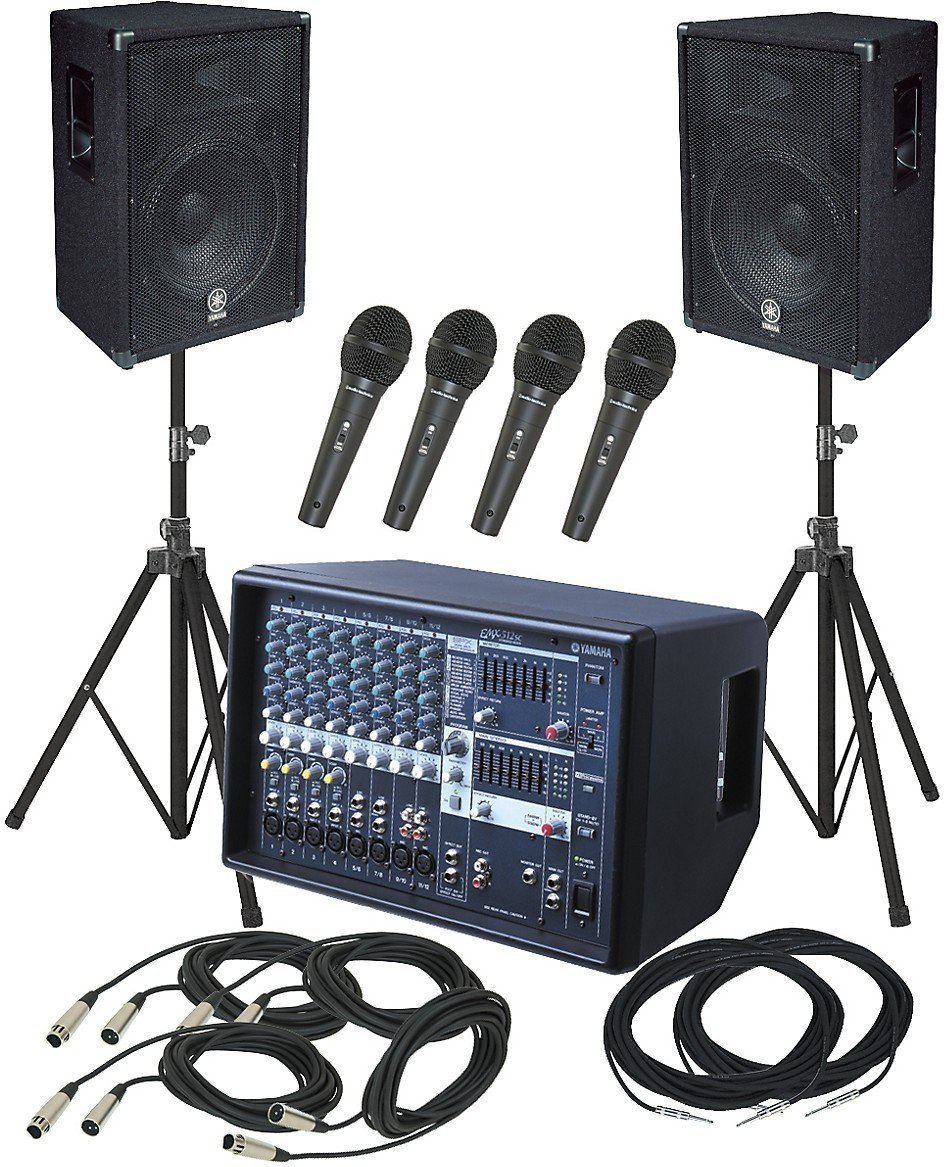 Yamaha PA System Package (1)