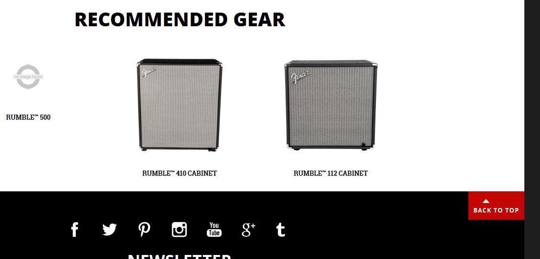Fender Rumble Speaker Cab Recomendations