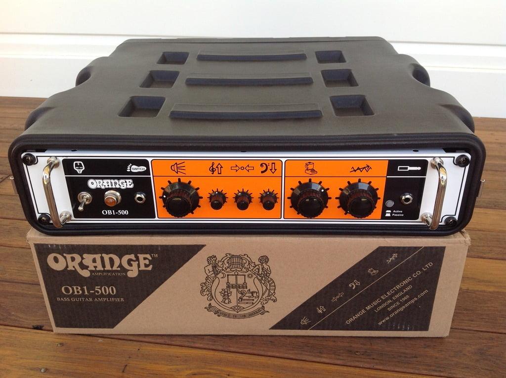 Orange OB1-500 Amp Head Unboxing