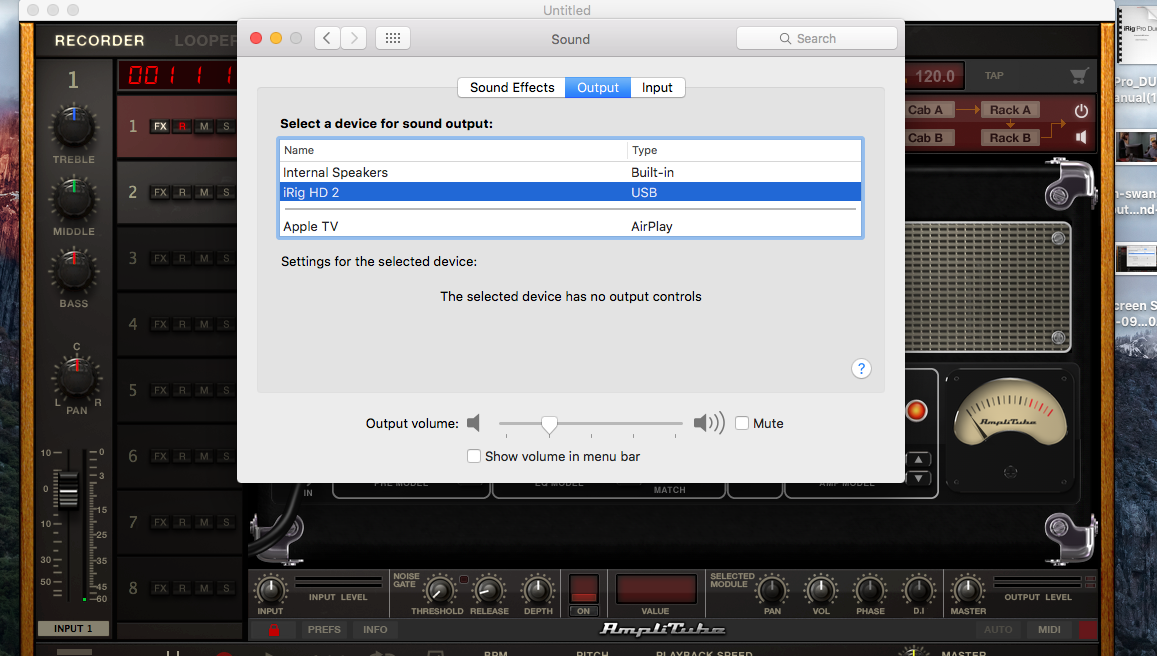 Setting up a Macbook to Work with iRig HD 2