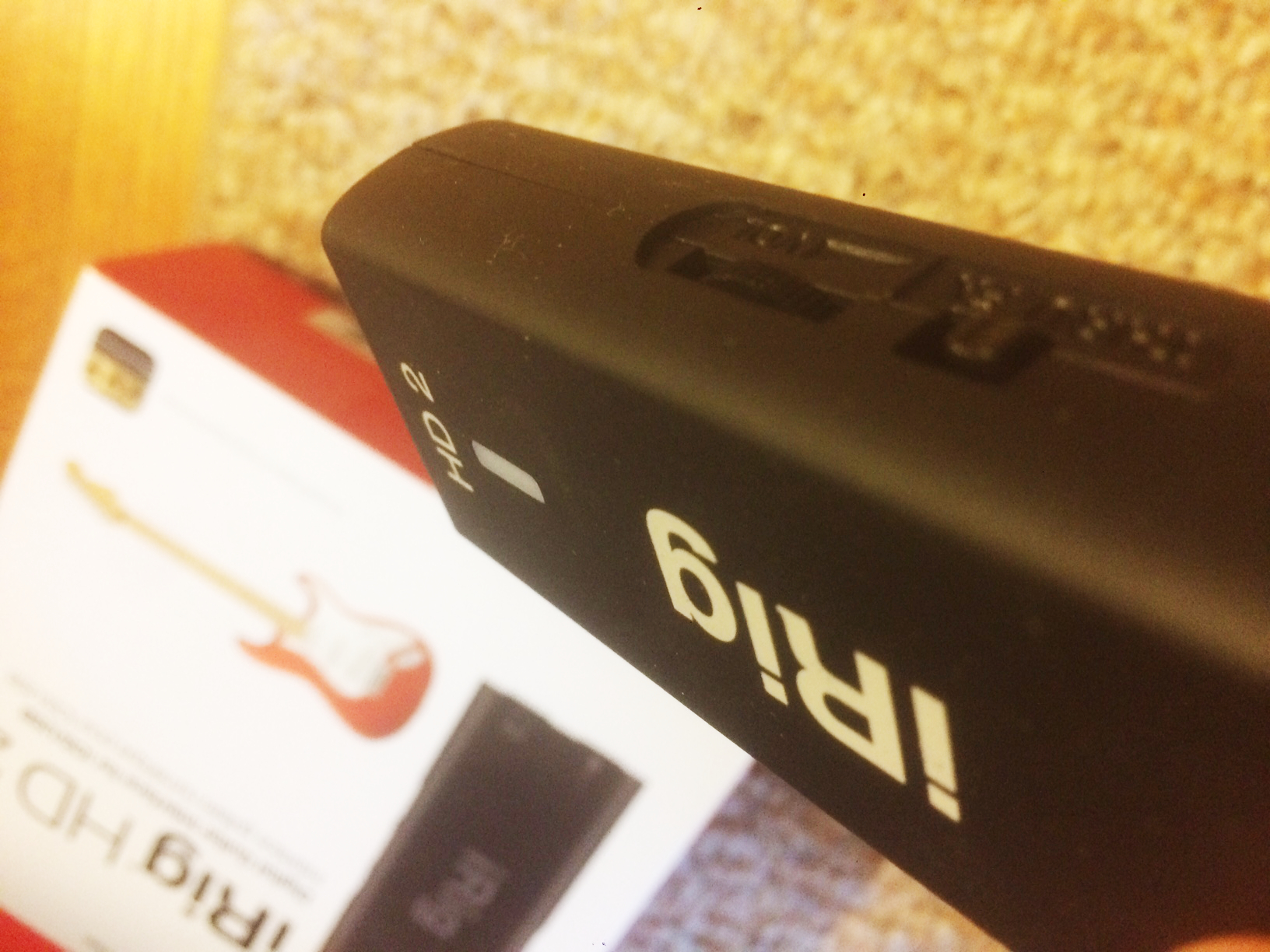 iRig HD 2 Volume Control
