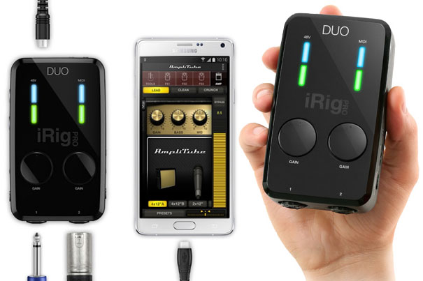 iRig Pro Duo iPhone Example