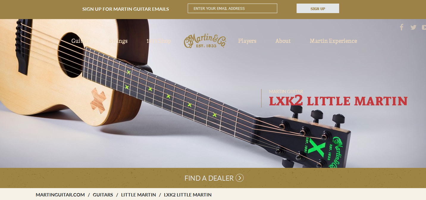 The Martin LXK2 Little Martin Home Page