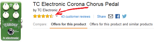 TC Electronic Corona Chorus Pedal Amazon Reviews