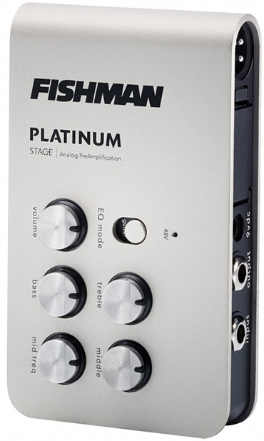 Fishman Platinum Stage EQ Acoustic Guitar Preamp