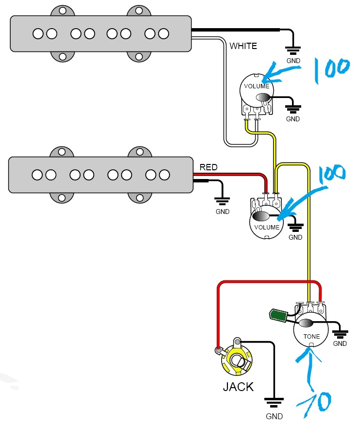 wiringbass Wire diagrams easy simple detail ideas general example best routing pickup wiring diagrams 1 wiring diagram for emg active pickups the wiring diagram ibanez v7 v8 wiring diagram at fashall.co