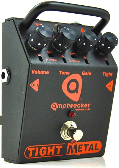 AmpTweaker TightMetal Dials and Controls