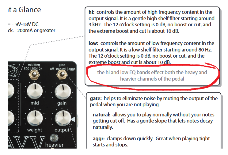 Empress Effects Heavy Dual Channel Distortion User Manual Clip