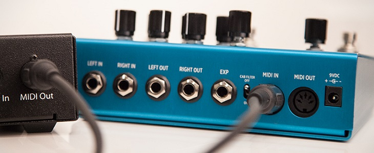 Strymon Big Sky Reverb Guitar Pedal with MIDI Ports