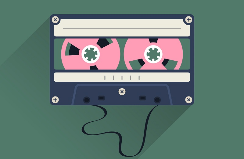 Casette Tape Graphic