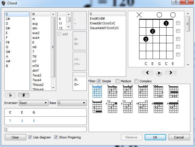 Guitar Pro 6 Chord Creation Interfaceg Guitar Chalk