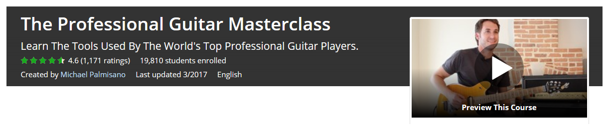 Online Guitar Lessons from Udemy
