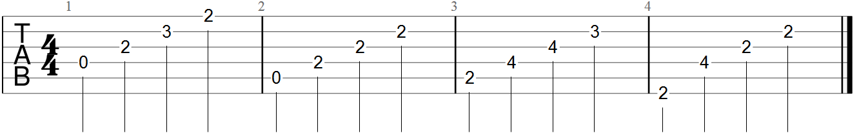 canon in d classical guitar tab pdf