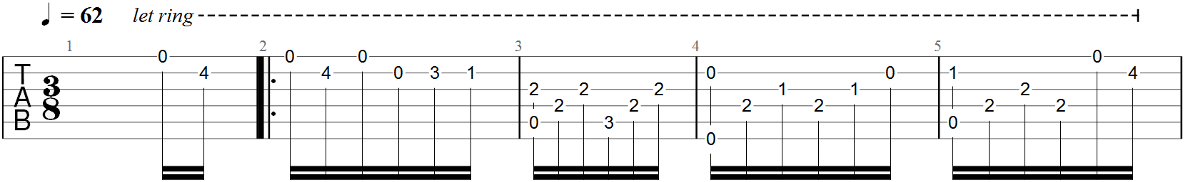 Simple Classical Guitar Tabs: A Guide to Getting Started | Guitar Chalk